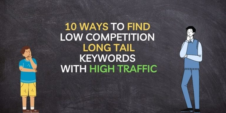 Find Low Competition Long Tail Keyword