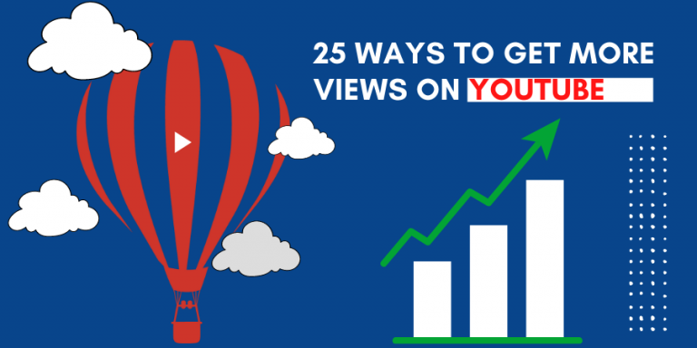 image of 25 ways to get more views on YouTube