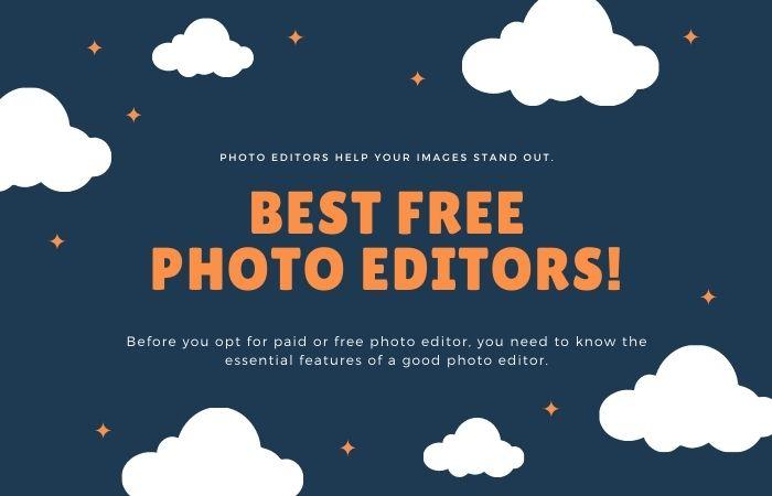 Best FREE Photo Editors